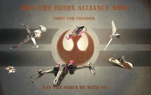 Rebel Alliance Propaganda by 1darthvader