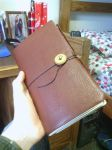 Hand-bound Leather Journal by Zenoc2