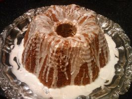 Pumpkin Bunt Cake by CrossFade1105