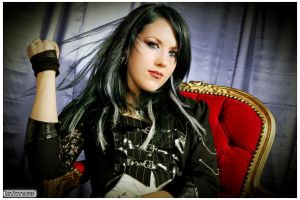 Alissa White-Gluz (The Agonist) / 2010 by TimTronckoe