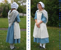 The Blue Peasant Girl by Marie-Ange-the-Celt