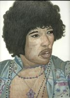 Jimi Hendrix In Color by donna-j