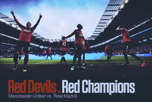 RED Champs | Red Devils by MSaadat10