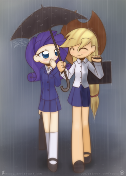 Weekly art#33 small unbrella by HowXu