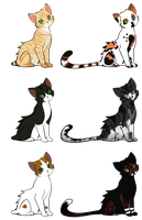 Cat Adoptables - Closed by smudge-92