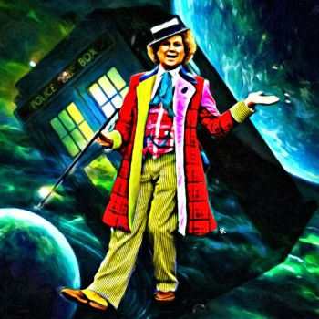 Sixth Doctor by LowBassGuy