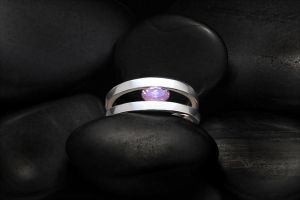 Amethyst Ring by tinkerSue