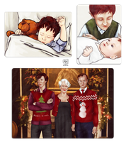 Sherlock BBC: Family photos by MadMoro