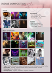 TOTW #22 + Best of Insane #22 by InsaneComposition