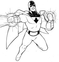 Space Ghost by TravisTheGeek