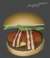 The hamburger by knozos