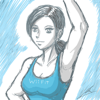 wii fit trainer by borockman