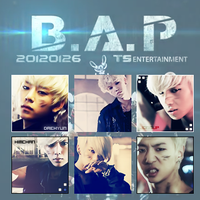 B.A.P Icons by Zaphri