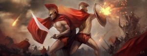 Spartans by frankhong