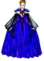 Mirror Mirror Evil Fairy entrance gown by Selinelle