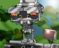 Johnny 5 by DemonShadows
