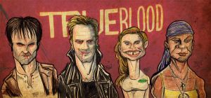 True Blood line up by Porkchop-ART