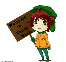 South Park :Kyle B. by YessSullivan