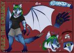 Flez Fursona Sheet by shiverz