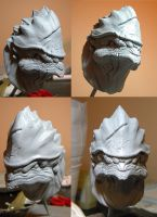 Mass Effect:  Wrex WIP by SKBstudios