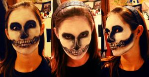 Sab's Halloween Makeup by Sabtastic