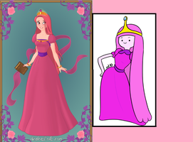 Princess Bubblegum (with pic) by SilkmousetheNeko