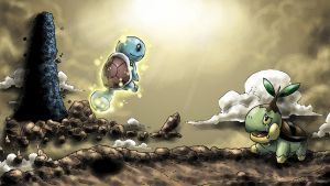 Pokemon Mystery Dungeon END-Artwork by blue-hugo