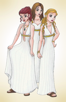 Charmed Goddesses by RyouGirl