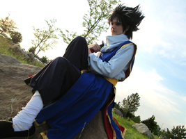 YYH - Hiei Cosplay by Rixari