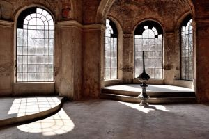 in an abandoned castle I by torobala