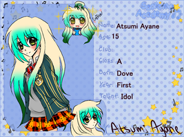 Aya Saotome Application by alysanthus
