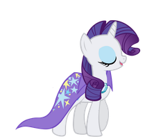 The Great and Powerful Rarity No Hat by Rarity6195