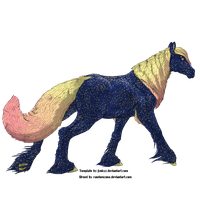 ??? Starry Candies - Wolf/Horse Hybrid by RandomZone