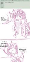 Ask PSE #1 by foxyko
