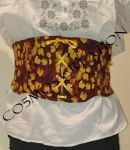 Corset Amber vine Front by CO5MOSCREATION