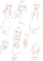 ATLA - Katara sketches by iTiffanyBlue