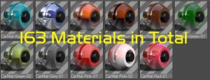 C4D Standard Materials Library (163 Materials) by bestm8