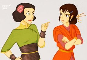 Lin vs Pema by liminowl
