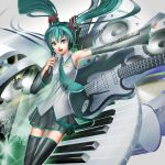 Miku Concert Abstract Ver 2.0 by inotna