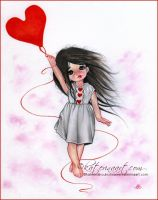 Love is in the air by Katerina-Art