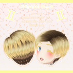 Gemini Hair [ Commission + DL ] by avant----garde