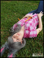 Judy Hopps,Carrot Farmer at Rest Zootopia Cosplay by KrazyKari