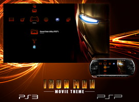 Iron Man Theme for PS3 and PSP by Alphathon
