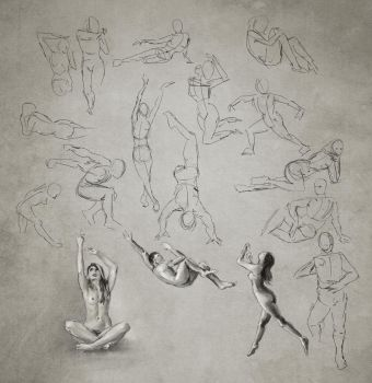 Daily Practice 01 23 2014, Figures by Eclectixx