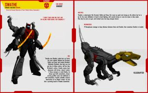 DINOBOT SWATHE by F-for-feasant-design