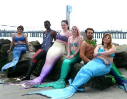 Lanai, The New York Mermaid and Her Mer-Crew by cookiebaby722