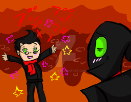 Nergal and Junior by Mika-19