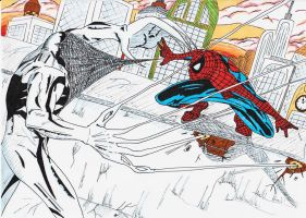 Spider-Man VS Anti-Venom by sasukevsnaruto101