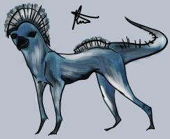 Water Creature Unfinished  by AnimationAmmeter