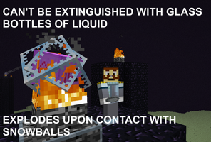 Video Game Logic - Minecraft - Ender Crystals by SecminourTheThird